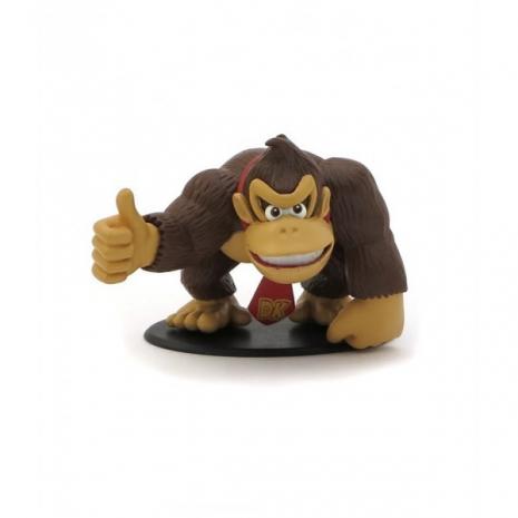 Набор фигурок Mario Series 4: Waluigi, Donkey Kong, Wario, Boo Ghost, Gumbo и маленький Donkey 6 в 1 (7 см)