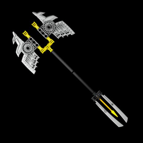 Конструктор LEGO BIONICLE Гали – Повелительница Воды - трезубец