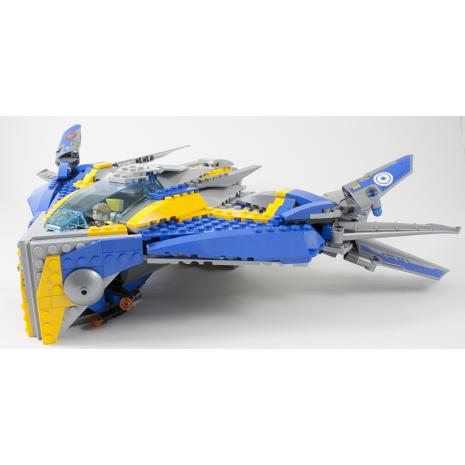 Спасение космического корабля Милано, Лего серия Супер Герои (Lego Super Heroes The Milano Spaceship Rescue) 76021-lg