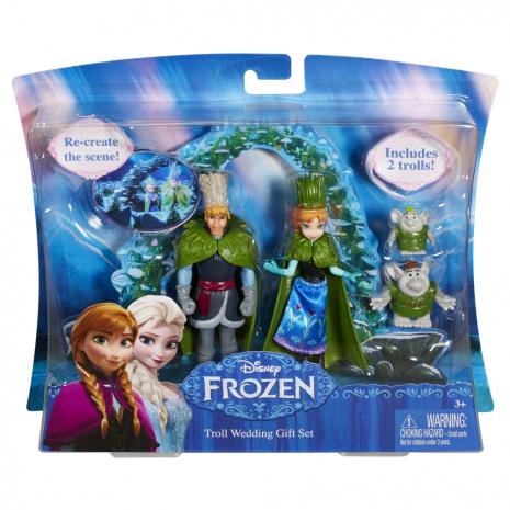 """Анна и Кристоф - герои м/ф """"Холодное Сердце"""" в наборе с 2 троллями, Disney Frozen"""