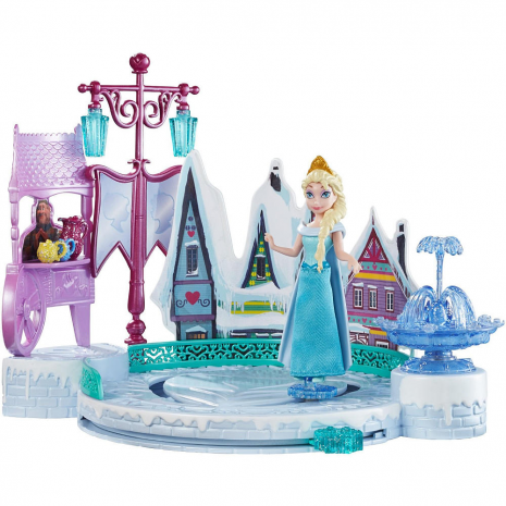 Эльза в наборе с катком и другими аксессуарами, Disney Frozen