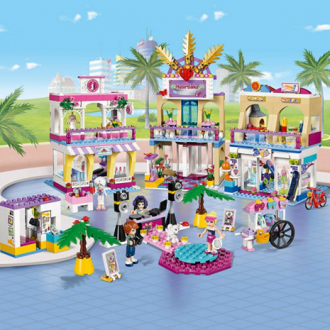 Торговый центр Хартлейк Сити, Lego Friends, 41058-lg