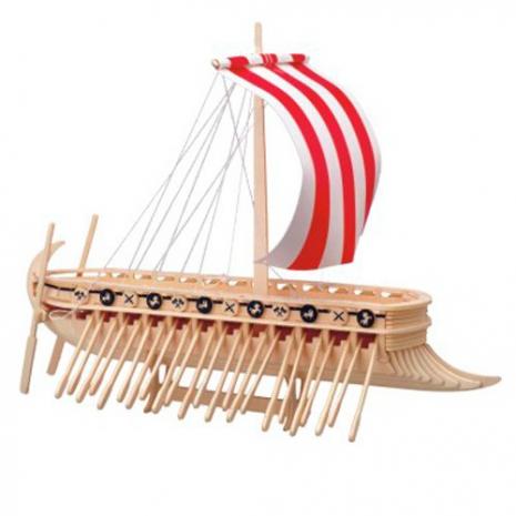 Финикийский парусник, сборная деревянная модель