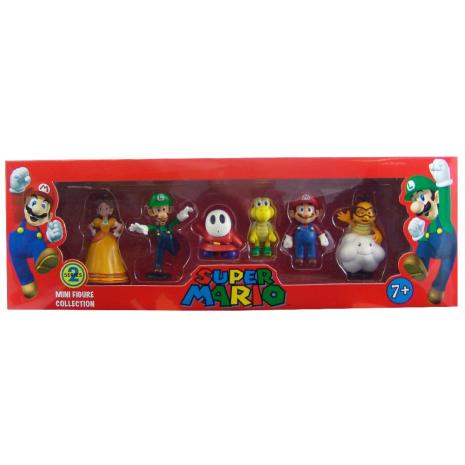 Набор фигурок Super Mario series 2 6 в 1 (6см)