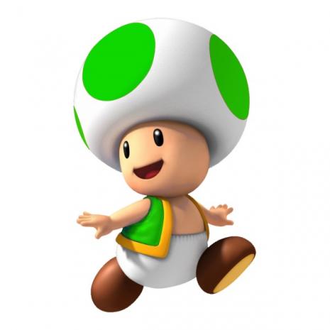 Набор фигурок Тоад 4 в 1 (красный, зеленый, синий, золотой) Super Mario