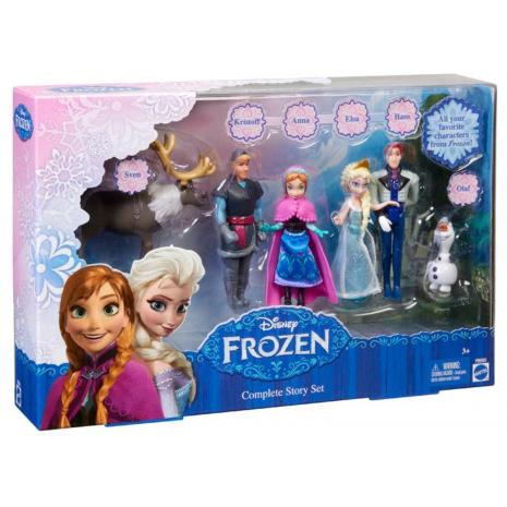 """Герои м/ф """"Холодное сердце"""" (Анна, Эльза, Олаф, Кристоф, Ханс, Свен) Disney Princess"""