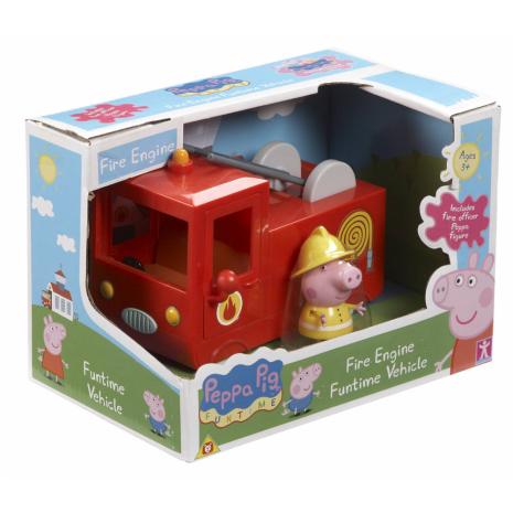 Пожарная машина Свинки Пеппы, игровой набор с фигуркой, Peppa Pig