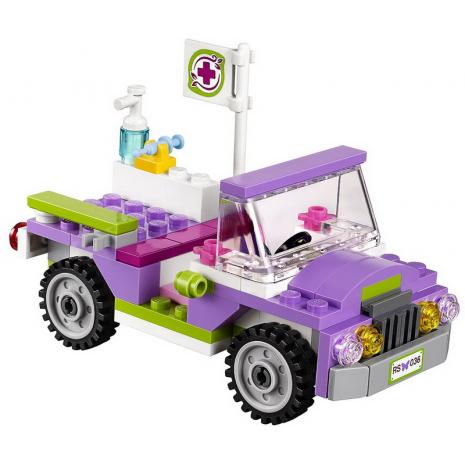 Спасательная операция на мосту в джунглях, Lego Friends