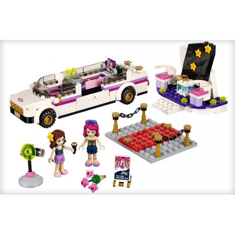 Лимузин поп-звезды Lego Friends
