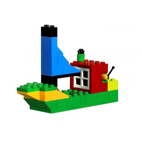 Коробка с кубиками, базовый набор, 221 элемент