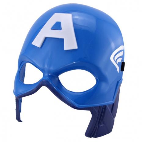 Маска Капитана Америки 32 см, свет/звук, Мстители (Captain America mask, Avengers)
