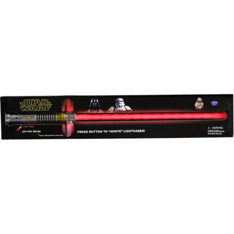 Световой меч Кайло Рена, Star Wars, со световыми и звуковыми эффектами в коробке