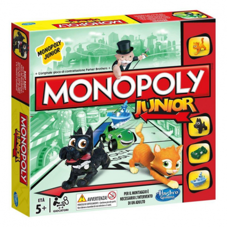 Моя Первая Монополия, настольная классическая игра