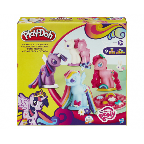 PLAY-DOH, Создай любимую Пони, игровой набор