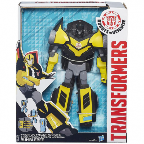 Бамблби Роботс-ин-Дисгайс Гиперчэндж Transformers