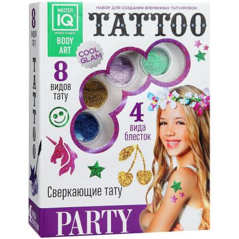 Набор для создания временных татуировок PARTY