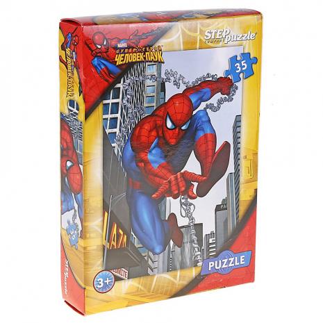 Человек-паук пазлы 35 элементов