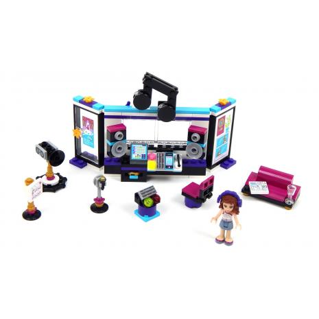 Студия звукозаписи поп-звезды Lego Friends