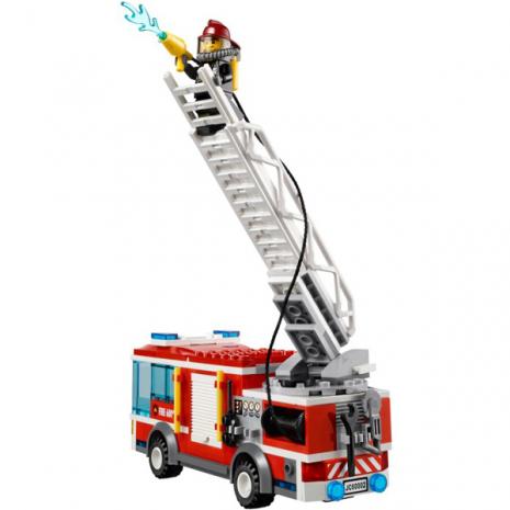 Пожарная машина Лего Город