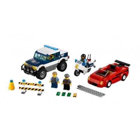 Погоня за преступником Лего Сити