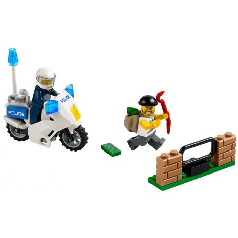 Погоня за воришкой Lego City