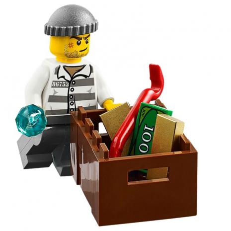 Патруль на вертолёте наблюдения Лего Сити