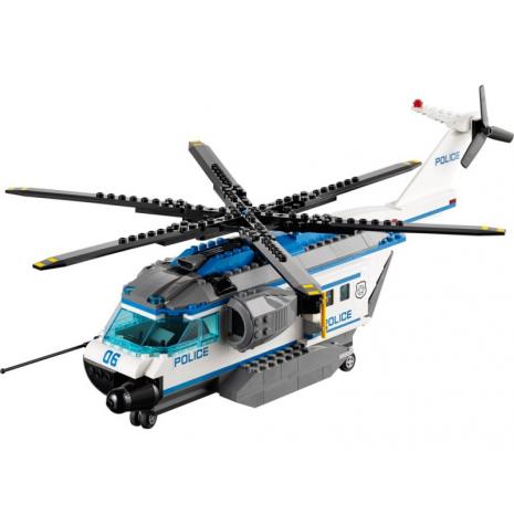 Полицейский вертолетный патруль Лего Сити