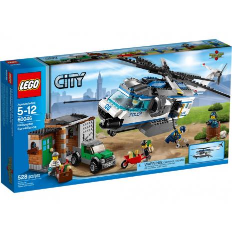 Полицейский вертолет Лего Город