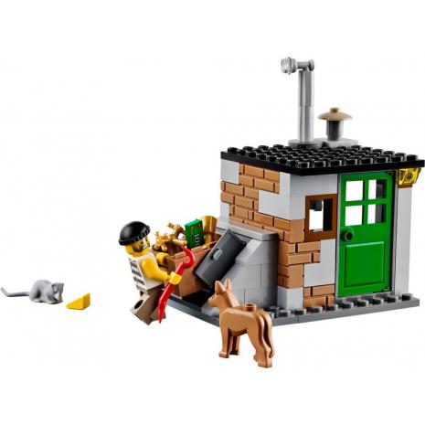Полицейский отряд с собакой Лего Город