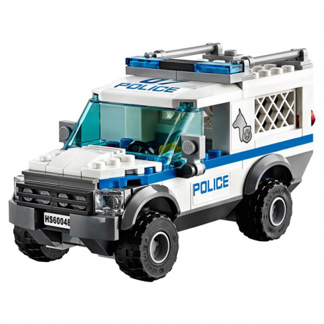 Полицейский отряд с собакой Lego City