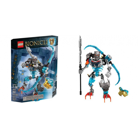 Леденящий Череп Lego Bionicle