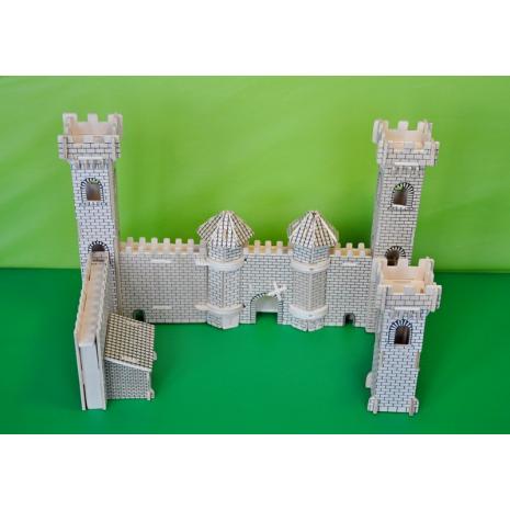 Крепость принца, сборная деревянная модель