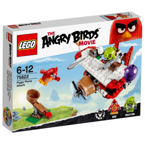 Самолетная атака свинок Лего Злые птички