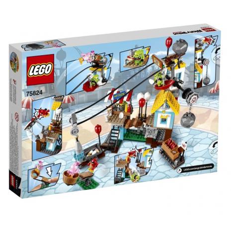Разгром Свинограда Лего Сердитые птички