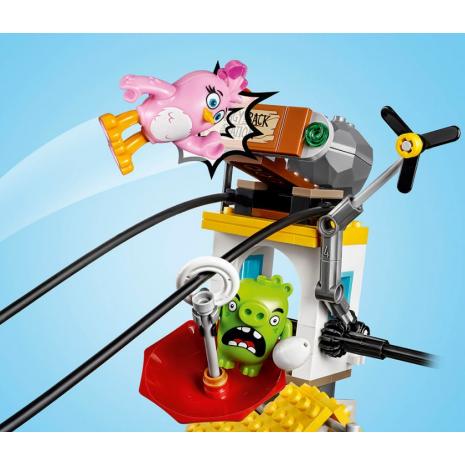 Разгром Свинограда Lego Angry Birds