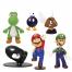 Набор мини-фигурок Марио Mario Series 1 (6 в 1)