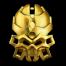 Конструктор LEGO BIONICLE Лорд Паучий Череп - золотая маска паучьих черепов
