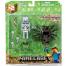 Фигурка Скелет - наездник с пауком (8 см), Майнкрафт, Spider Jockey, Minecraft