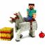 Фигурка Стив и Лошадь (8 см) , Майнкрафт, Minecraft Steve & Horse