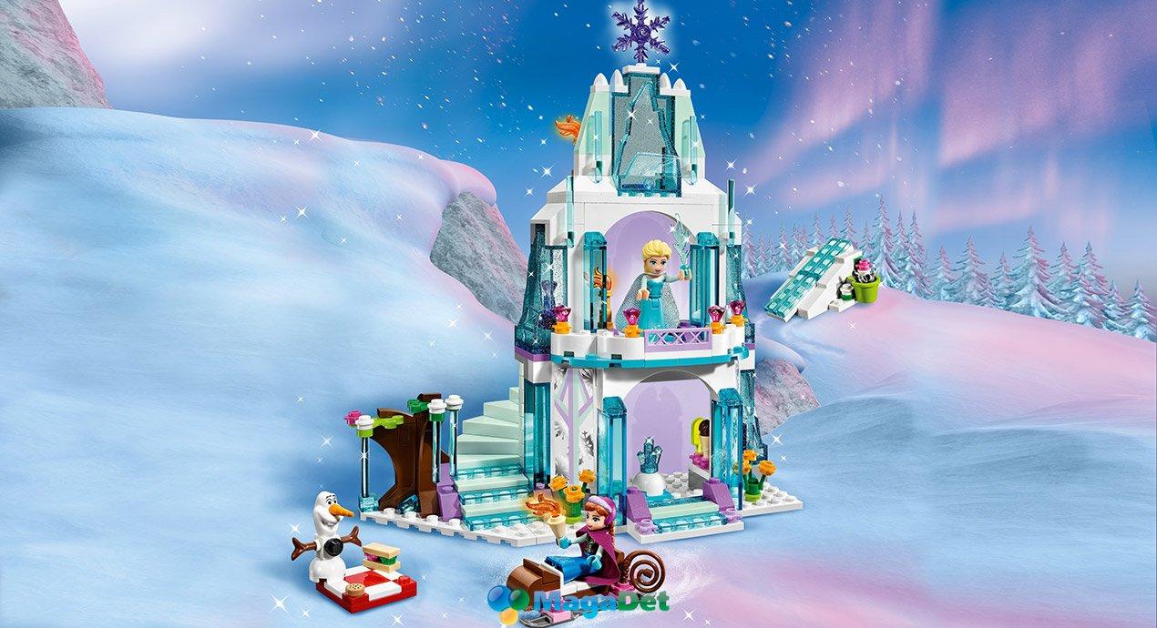 МагаДет: LEGO DISNEY PRINCESS Ледяной замок Эльзы - купить в один клик