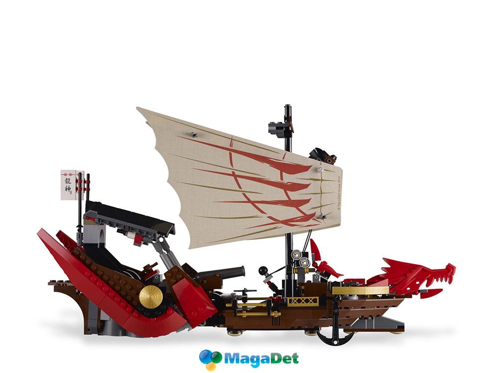 Как сделать из лего мини летающий корабль