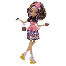 """Кукла Ever After High """"Долго и Счастливо"""" Шляпное чаепитие - Седар Вуд (Cedar Wood), Mattel, BJH32"""