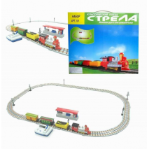 """Классический поезд """"Стрела"""" - электромеханическая железная дорога"""