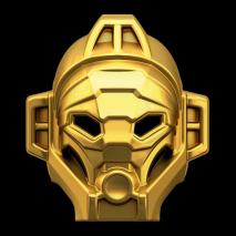Конструктор LEGO BIONICLE Лева – Повелитель Джунглей - золотая маска джунглей