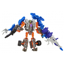 Локдаун и Когтистый Динозавр. Констракт-Боты: Воины. Transformers 4