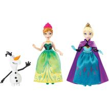 """Анна и Эльза, героини м/ф """"Холодное сердце"""", в наборе с Олафом, Disney Frozen"""