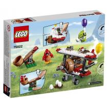 Самолётная атака свинок Лего Злые птички