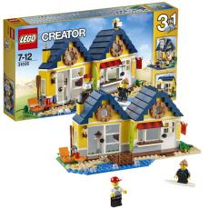 Конструктор LEGO CREATOR Домик на пляже с упаковкой