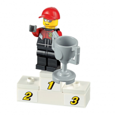 Перевозчик гоночных мотоциклов Lego City