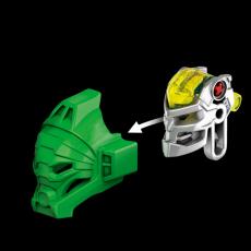 Конструктор LEGO BIONICLE Лева – Повелитель Джунглей - механизм снятия маски